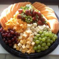 Large Fruit & Cheese Tray